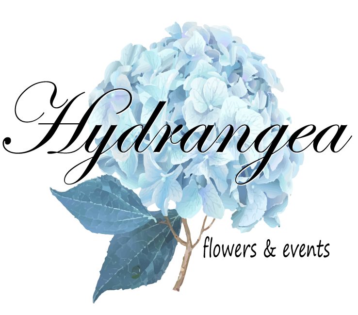 Hydrangea Flowers and Events logo